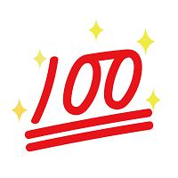 100点イメージ図